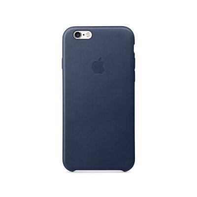 Apple - kožený kryt pre iPhone 6s - tmavo modrý