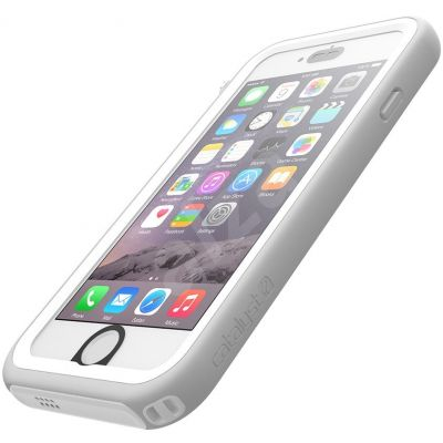 Vodotesný obal na iPhone 6/6s Catalyst Waterproof - biely