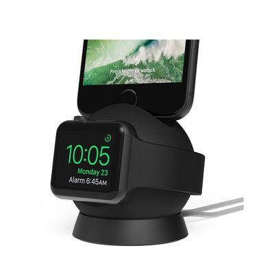 Nabíjací stojan na Apple Watch a iPhone iOttie OmniBolt - čierny