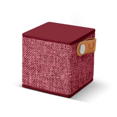 FRESH ´N REBEL Rockbox Cube Fabriq Edition Bluetooth reproduktor - rubínovo červený