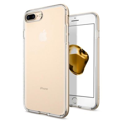 Kryt na iPhone 7/8 Plus Spigen Neo Hybrid Crystal - zlatý