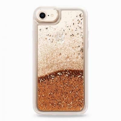 InnocentMade Glitter kryt pre iPhone 8/7 - zlatý
