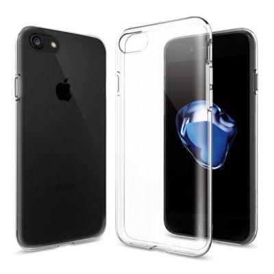 Kryt na iPhone 7 Spigen Liquid Crystal - priehľadný