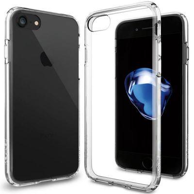 Spigen Ultra Hybrid - ochranný kryt pre iPhone 7 - priehľadný