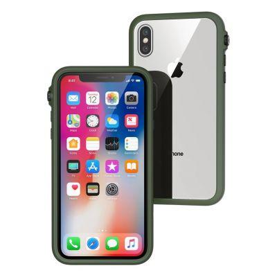 Catalyst Impact superodolný ochranný kryt pre iPhone X - zelený
