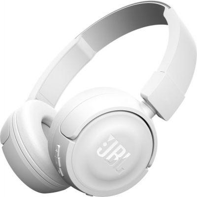 Bezdrôtové slúchadlá JBL T450BT - biele