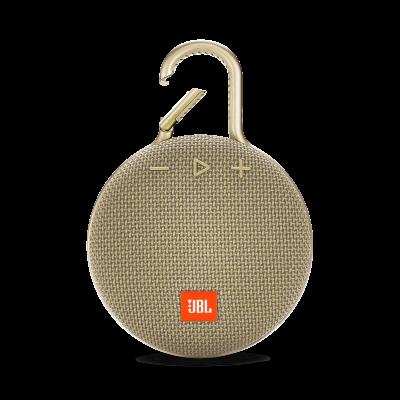 Bluetooth reproduktor JBL Clip 3 - zlatý