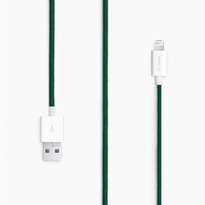Le Cord Lightning kábel 1,2m - zelený