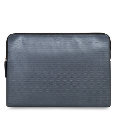 "Knomo EMBOSSED puzdro pre MacBook Pro 15"" - strieborné"