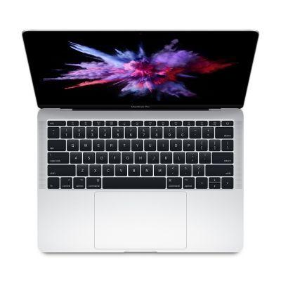 """Apple MacBook Pro 13"""" 2,3 GHz, 128 GB úložisko, mpxr2sl/a - strieborný"""