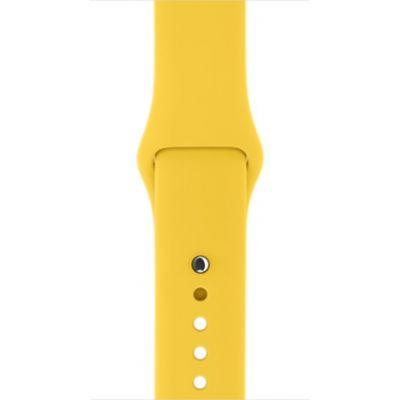 Apple - 38mm žltý športový remienok