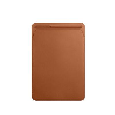 Kožený návlek na 10,5palcový iPad Pro - sedlovo hnedý