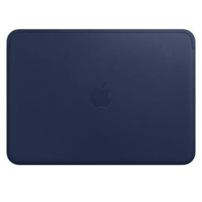 """Kožený návlek na MacBook 12"""" Apple - polnočne modrý"""