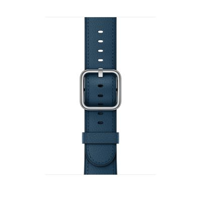Remienok na Apple Watch 42mm s klasickou prackou kozmicky modrý