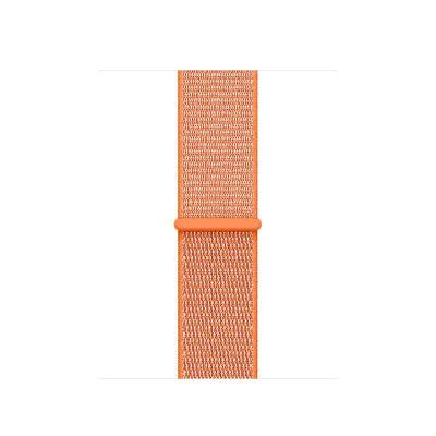 Remienok na Apple Watch 38mm prevliekací - paprikovo oranžový