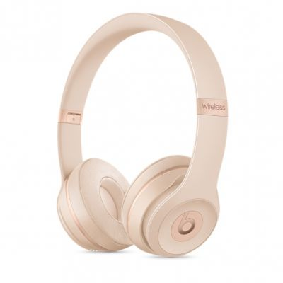 Bezdrôtové slúchadlá Beats - Solo3 Wireless - matne zlaté