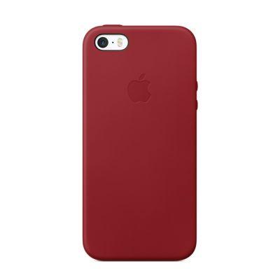 Apple kožený kryt pre iPhone 5/5s/SE - tmavo modrý