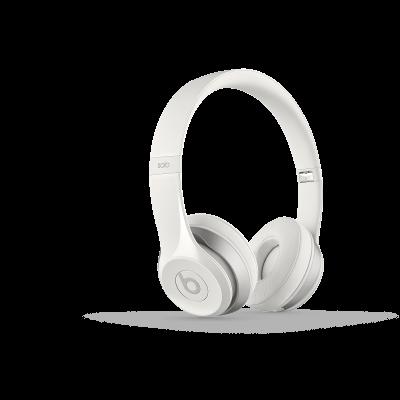 Beats Solo 2 On-Ear slúchadlá - biele