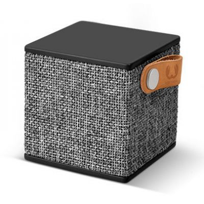 FRESH ´N REBEL Rockbox Cube Fabriq Edition Bluetooth reproduktor - šedý