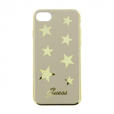 Guess Stars ohybný kryt pre iPhone 7/8 - béžový