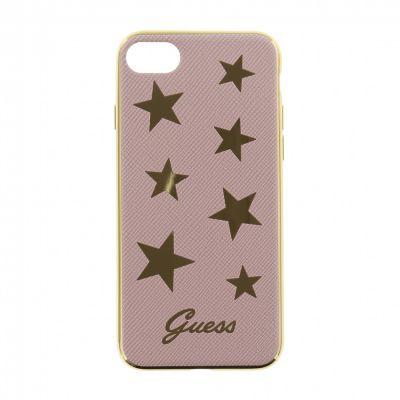Guess Stars ohybný kryt pre iPhone 7/8 - ružovo zlatý