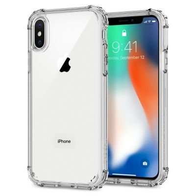 Spigen Crystal Shell, clear crystal - iPhone X